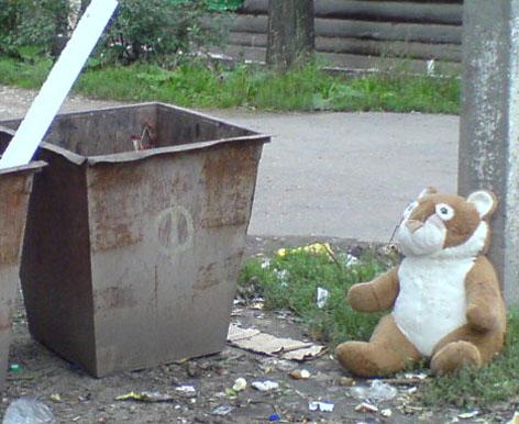 Путинская программа утилизации детей: Тело младенца нашли в пластиковом пакете в Новосибирске
